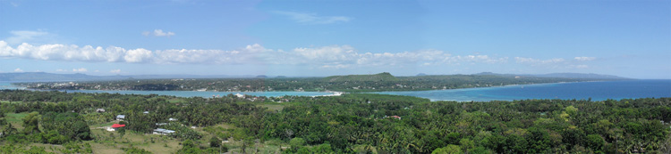 Panoramic view from Bohol Vantage Resort