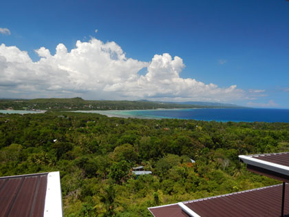 Le Panorama Reaturant at Bohol Vantage Resort - Great View