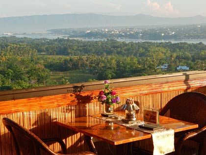 Le Panorama Restaurant at Hotel Bohol Vantage Resort